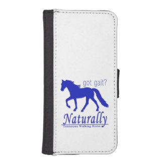 got gait? Naturally Tennessee Walking Horse iPhone 5 Wallets