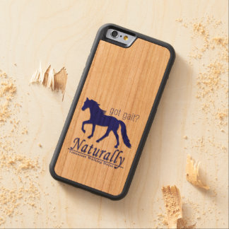 got gait? Naturally Tennessee Walking Horse Cherry iPhone 6 Bumper Case