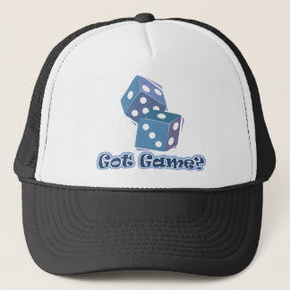 Got Game? dice Trucker Hat