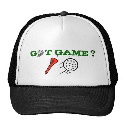 Got Game Golf Ball Cap Hats
