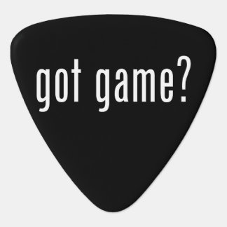 got game? plectrum