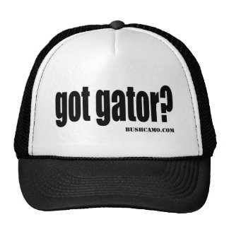 got gator trucker hats