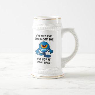 Got Genealogy Bug Bad Coffee Mugs