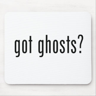 Got Ghosts? Mouse Mat
