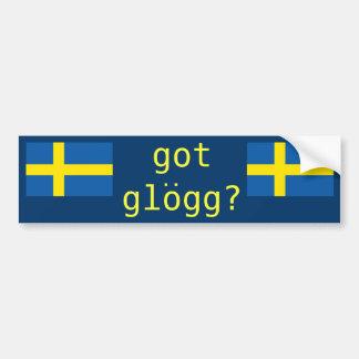 got glogg? Funny Drinking Bumper Sticker