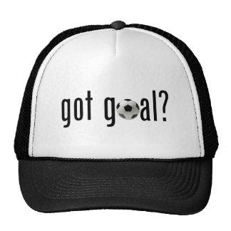 got goal? mesh hats