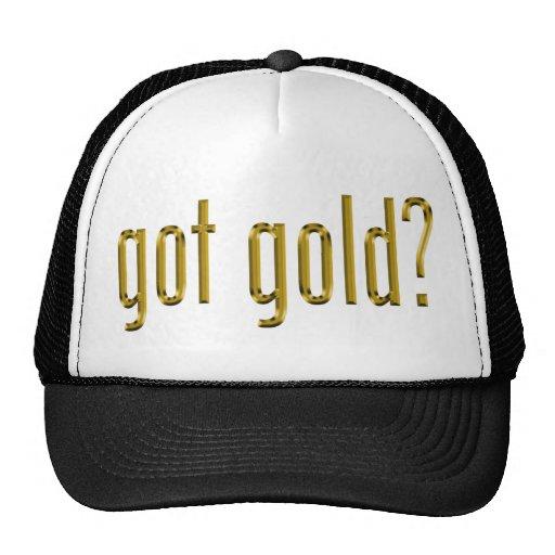 got gold? mesh trucker hat