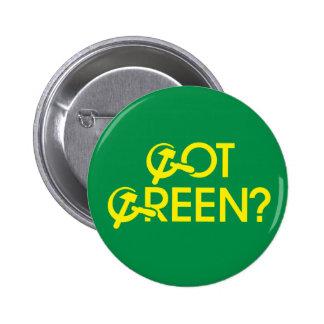 Got Green Pinback Buttons