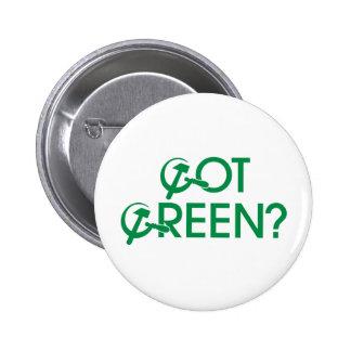 Got Green Pinback Button