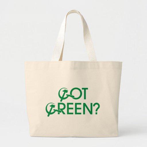 Got Green? Canvas Bag