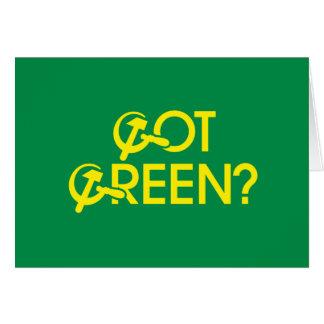 Got Green Greeting Card