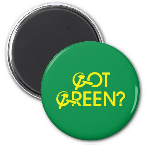 Got Green? Refrigerator Magnets
