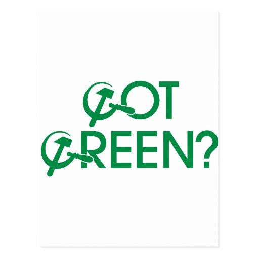 Got Green? Post Cards