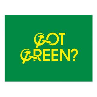 Got Green Post Card