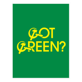 Got Green? Post Card