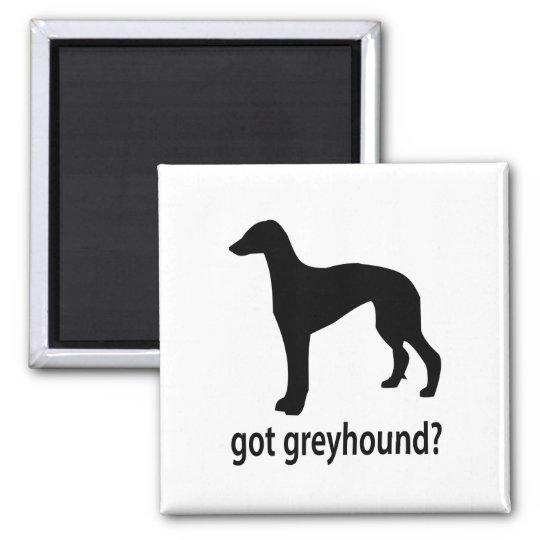 Got Greyhound Square Magnet
