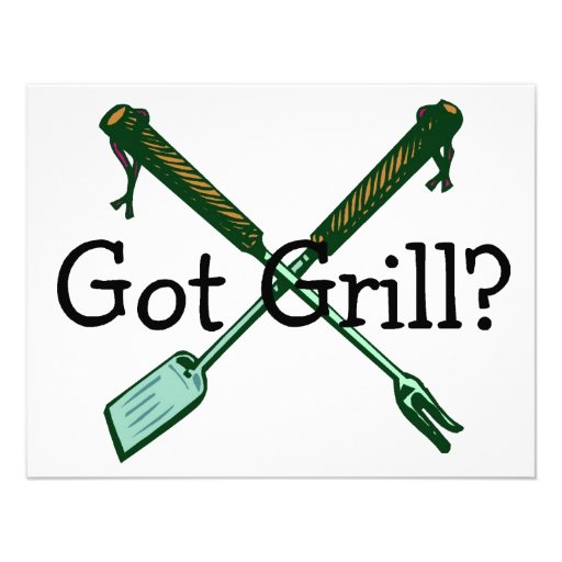 Got Grill Custom Announcements