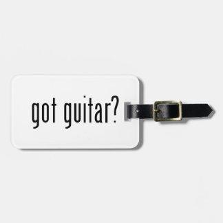 got guitar? luggage tag