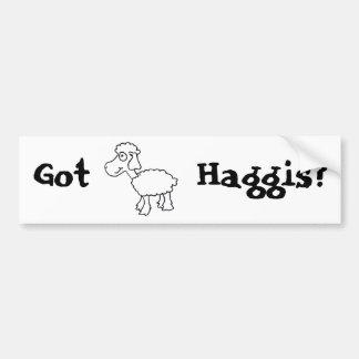 Got Haggis? Bumper Sticker