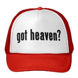 got heaven? mesh hat