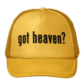 got heaven? trucker hats