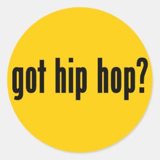 got hip hop? stickers