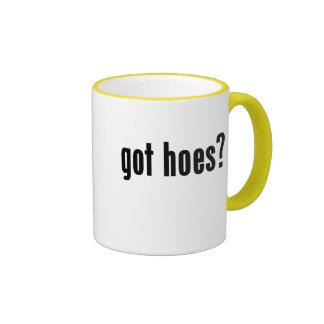 got hoes? coffee mugs