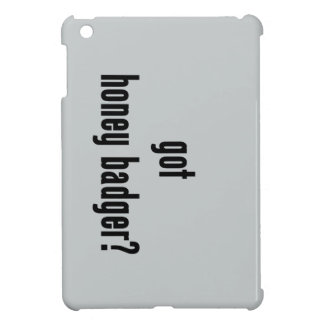 got honey badger? iPad mini covers