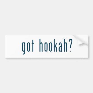 got hookah bumper sticker