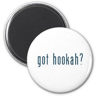 got hookah 6 cm round magnet