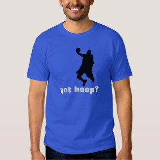 Got Hoop? Basketball T-Shirt - Blue Black White