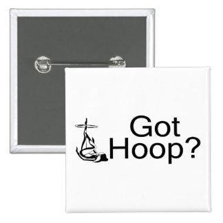 Got Hoop Hula Hoop Girl Button