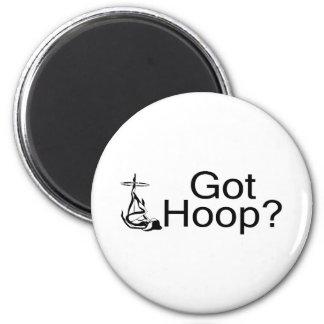Got Hoop Hula Hoop Girl 6 Cm Round Magnet