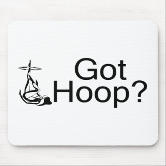 Got Hoop Hula Hoop Girl Mouse Pad
