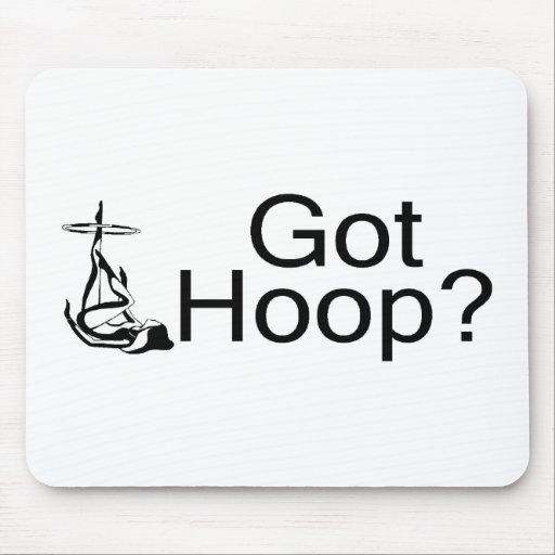 Got Hoop Hula Hoop Girl Mouse Pads