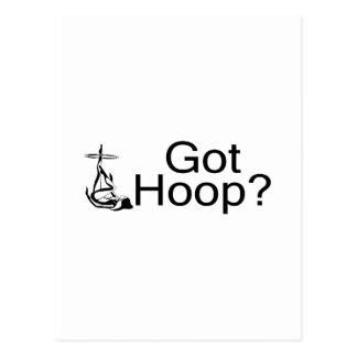 Got Hoop Hula Hoop Girl Postcard