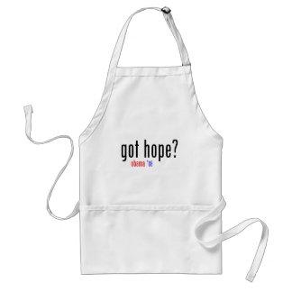 got hope? obama 08 standard apron