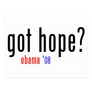 got hope? postcard