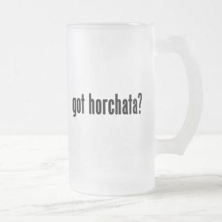 got horchata? coffee mug