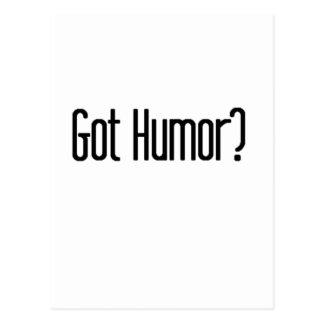 Got Humor Postcard