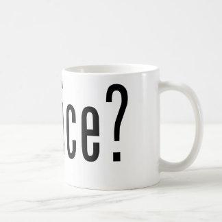 got ice? coffee mug