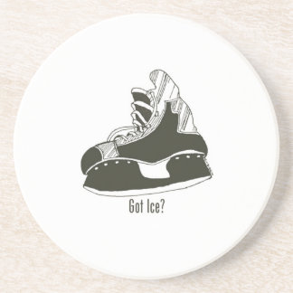Got Ice? Hockey Skate Coaster