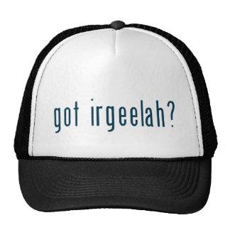 got irgeelah trucker hat