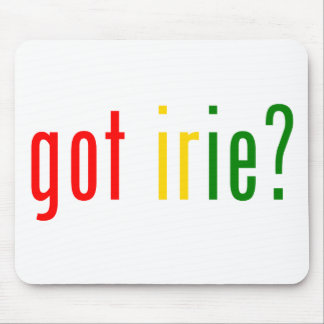 got irie? mouse pad