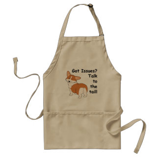 Got Issues Pembroke Welsh Corgi Standard Apron