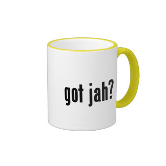 got jah? coffee mugs