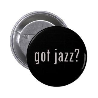 got jazz? 6 cm round badge
