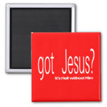 Got Jesus Square Magnet