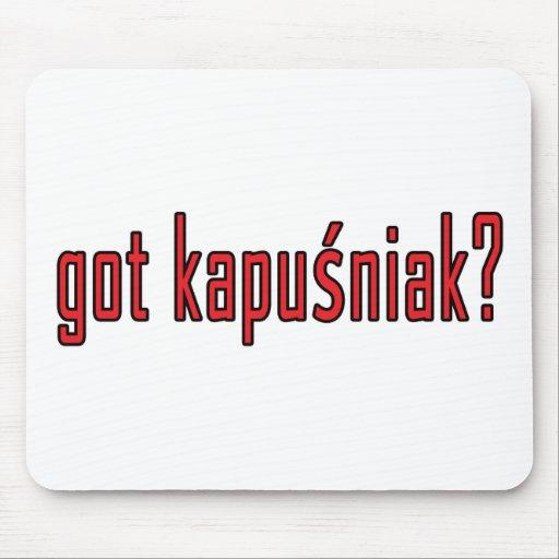 got kapusniak? mouse mats