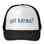 got karma? mesh hats